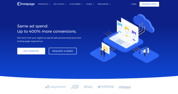 Instapage Landing Page Lead Generation Tool