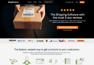 Shipstation Shopify Shipping Management Application Homepage